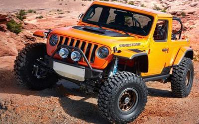 为越野大会打造 Jeep发布7款概念车官图