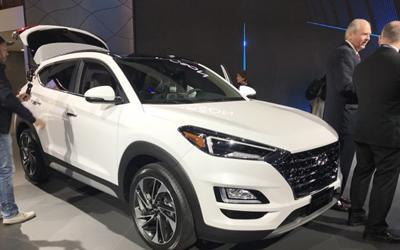 2018纽约车展:现代汽车发布新款途胜