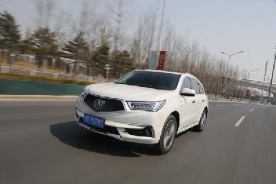 技术控也能玩转豪华SUV 深度测试讴歌MDX混动版