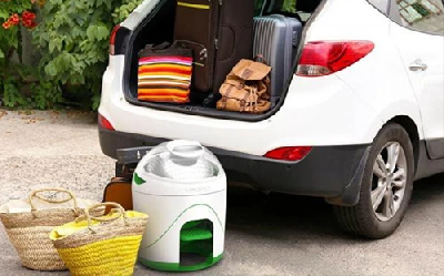 Drumi便携式户外洗衣机 户外脚踩洗衣神器
