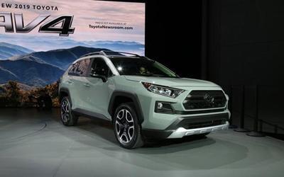 丰田全新RAV4或2019年底国产 TNGA平台打造/或提供7座版车型