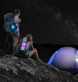 4ID LED发光挂勾灯泡 色彩丰富户外装备