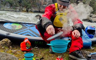 吃货的福利的X- Pot折叠煲 伸缩自如的户外野营装备