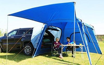 夏天到了,户外游怎可少了它--KingCamp能变房车的帐篷