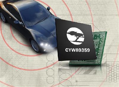 日本先锋选用赛普拉斯Wi-Fi®和蓝牙组合解决方案 用于车载信息娱乐系统