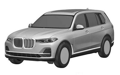 定位旗舰SUV 宝马X7将于洛杉矶车展首发