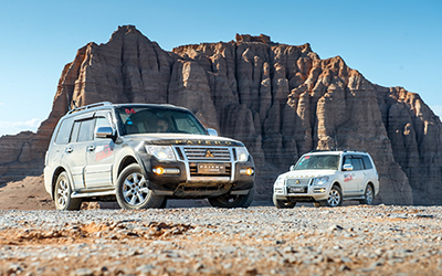 超选同行 转动72h 2019款帕杰罗带你穿越库木塔格沙漠