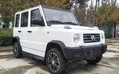 酷似奔驰G级 北京汽车全新电动车申报图