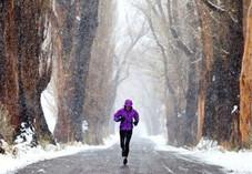 冬季跑步注意事项:掌握好运动量