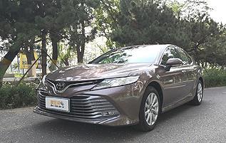 家用轿车的中坚力量 广汽丰田2019款凯美瑞