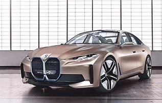 宝马首款纯电动四门轿跑BMW i4概念车全球首发