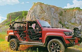 金陵野趣:用热爱改造出最纯粹的越野车