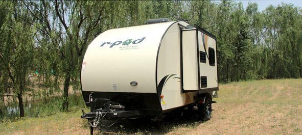 美国拖挂式A型森林河R·POD 177房车