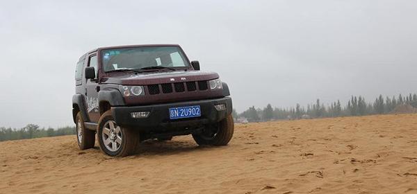 沙漠穿越者 试驾北京40手动穿越版