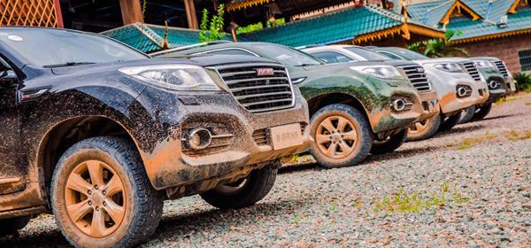 山林体验哈弗H9 不是所有SUV都能越野