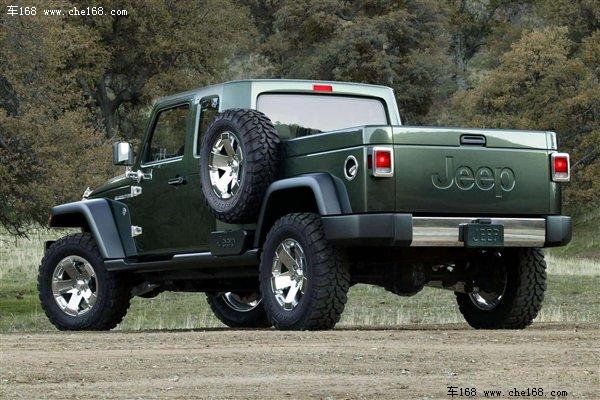 借鉴概念车设计吉普2012年推全新皮卡