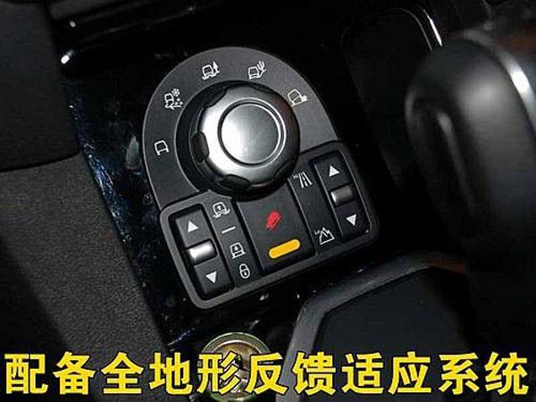 全能对决配备路况选择系统的高端SUV