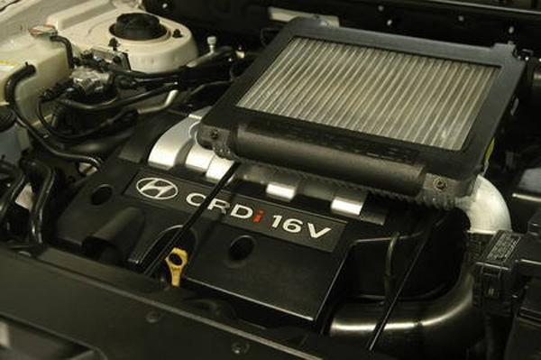 0t柴油发动机的圣达菲