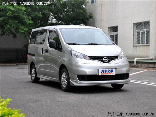 郑州日产nv200享节能补贴 送装潢礼包高清图片