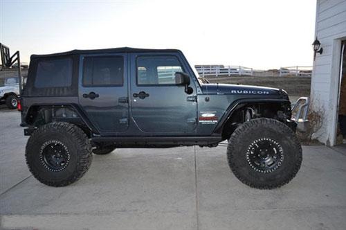 jeep牧马人改装rock krawler全铝悬架