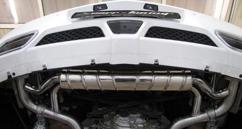 升至606匹 Senner推奔驰超跑SLS改装版