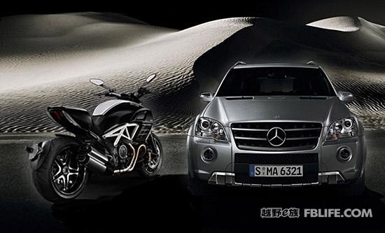 当SUV遇上摩托:AMG与杜卡迪的不解姻缘
