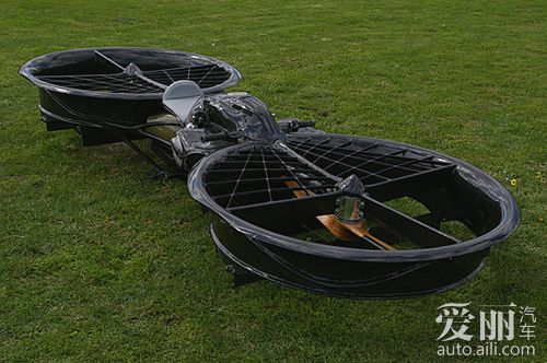 车评网 多维度发展 澳大利亚成功研制悬浮摩托车