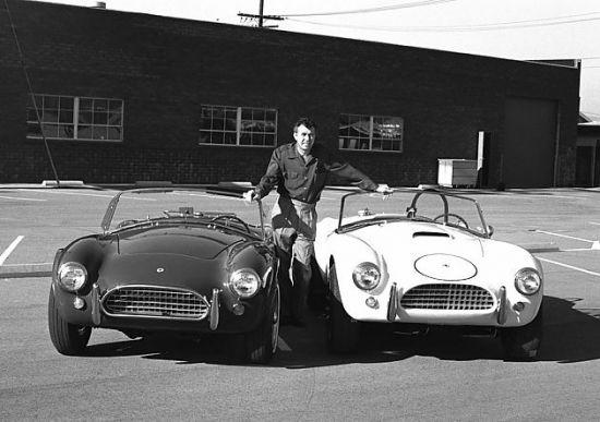 眼镜蛇之王 汽车设计师卡罗尔 谢尔比高清图片