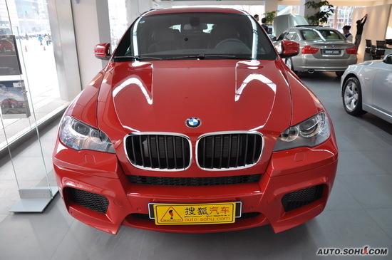 宝马X6M上海有少量现车 优惠达54.75万