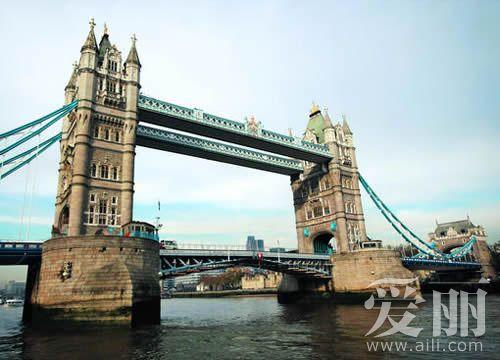 英国伦敦著名景点 男人的逍遥地图