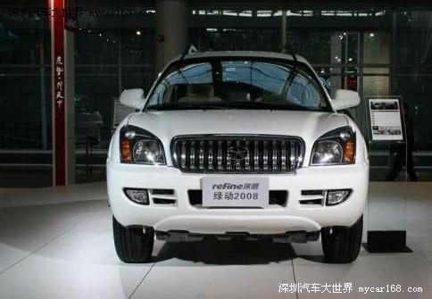 SUV买得实惠 10万级自主SUV车导购