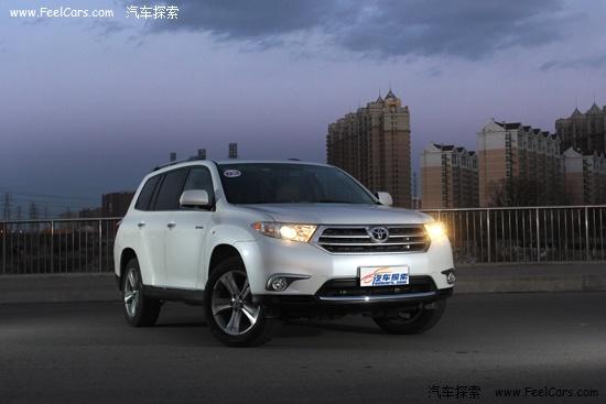 进口红杉_2014款丰田汉兰达变化明显 将推8座版