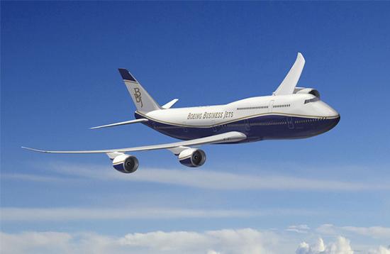 私人飞机的巅峰之作 波音747-8
