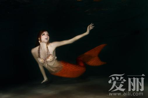 美人鱼/该纪录片放映了一段美人鱼被拍摄到的视频片段,还有一位据称是...