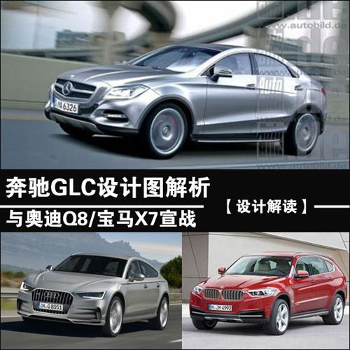 设计图 奔驰/奔驰GLC设计图解析与Q8/宝马X7宣战